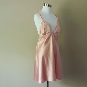 XL Victoria's Secret Chemise Slip Dress Dusty Pink